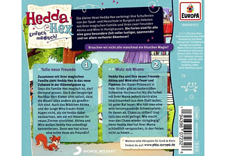 Hedda Hex - 001/Tolle neue Freunde/Wutz mit Wums  - (CD)