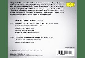 Rudolf Buchbinder, Berliner Philharmoniker - Beethoven: Piano Concerto No. 1, Op. 15; 6 Piano V  - (CD)