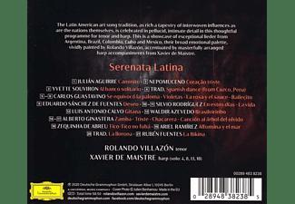 Xavier de Maistre, Rolando Villazon - Serenata Latina  - (CD)