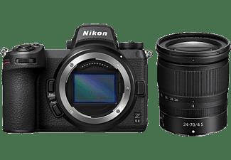 NIKON Z 6II Systemkamera mit Objektiv Z 24-70mm f4 S