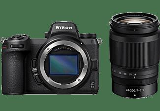 NIKON Z 6II Systemkamera mit Objektiv Z 24-200mm f4.0-6.3 VR