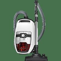 MIELE Bodenstaubsauger ohne Beutel Blizzard CX1 Red Edition PowerLine SKRF3 Lotosweiß
