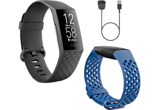FITBIT Charge 4 Limited Edition Gift Pack - GPS-Fitness-Tracker (Schwarz)