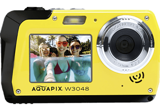 EASYPIX Easypix Aquapix W3048 Edge Unterwasserkamera gelb, k.A. opt. Zoom, Dual-Display