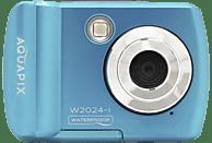 EASYPIX Easypix Aquapix W2024 Splash Unterwasserkamera blau, k.A. opt. Zoom, Farb-Display