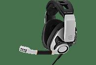 EPOS SENNHEISER GSP 601, Over-ear Gaming Headset Weiß/Schwarz