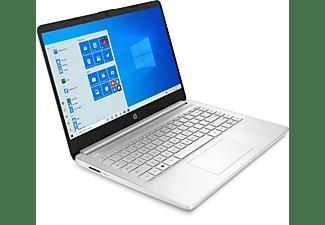 HP 14s-fq0350ng, Notebook mit 14 Zoll Display, AMD Ryzen™ 5 Prozessor, 8 GB RAM, 512 GB SSD, AMD Radeon Grafik, Silber