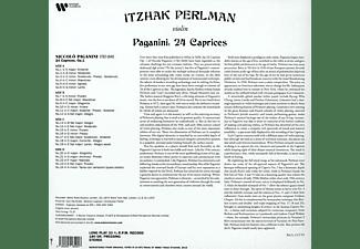Itzhak Perlman - 24 CAPRICES  - (Vinyl)