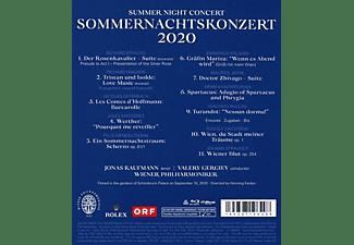 Jonas Kaufmann, Wiener Philharmoniker - SOMMERNACHTSKONZERT 2020  - (Blu-ray)