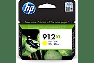 Cartucho de tinta - HP 912 XL, Amarillo, 3YL83AE