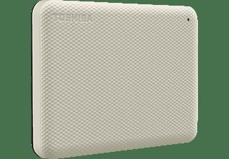 TOSHIBA Canvio Advance Festplatte, 1 TB HDD, 2,5 Zoll, extern, Hellbeige