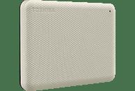 TOSHIBA Canvio Advance Festplatte, 2 TB HDD, 2,5 Zoll, extern, Hellbeige