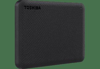 TOSHIBA Canvio Advance Festplatte, 1 TB HDD, 2,5 Zoll, extern, Schwarz