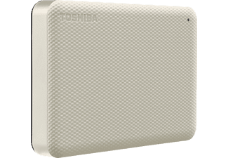 TOSHIBA Canvio Advance, 4 TB HDD, 2,5 Zoll, extern, Hellbeige