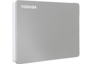 TOSHIBA Canvio Flex Festplatte, 2 TB HDD, 2,5 Zoll, extern, Silber