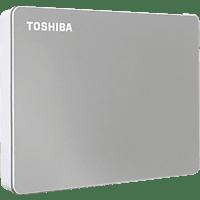 TOSHIBA Canvio Flex, 2 TB HDD, 2,5 Zoll, extern, Silber