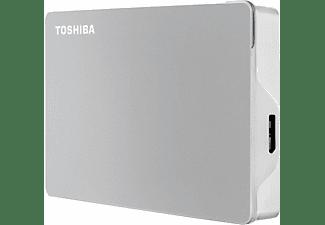 TOSHIBA Canvio Flex Festplatte, 4 TB HDD, 2,5 Zoll, extern, Silber