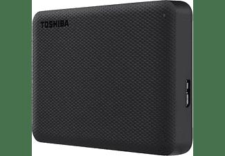 TOSHIBA Canvio Advance Festplatte, 4 TB HDD, 2,5 Zoll, extern, Schwarz