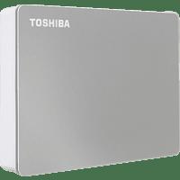 TOSHIBA Canvio Flex, 4 TB HDD, 2,5 Zoll, extern, Silber