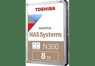 TOSHIBA N300 NAS-Festplatte, 8 TB Interner Speicher, HDD SATA 6 Gbps, 3,5 Zoll, intern