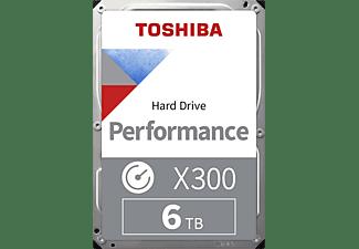 TOSHIBA High Performance Festplatte, 6 TB Interner Speicher, HDD SATA 6 Gbps, 3,5 Zoll, intern