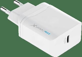 XLAYER 215564 Netzteil Universal, 5, 9, 12 Volt 18 Watt, Weiß