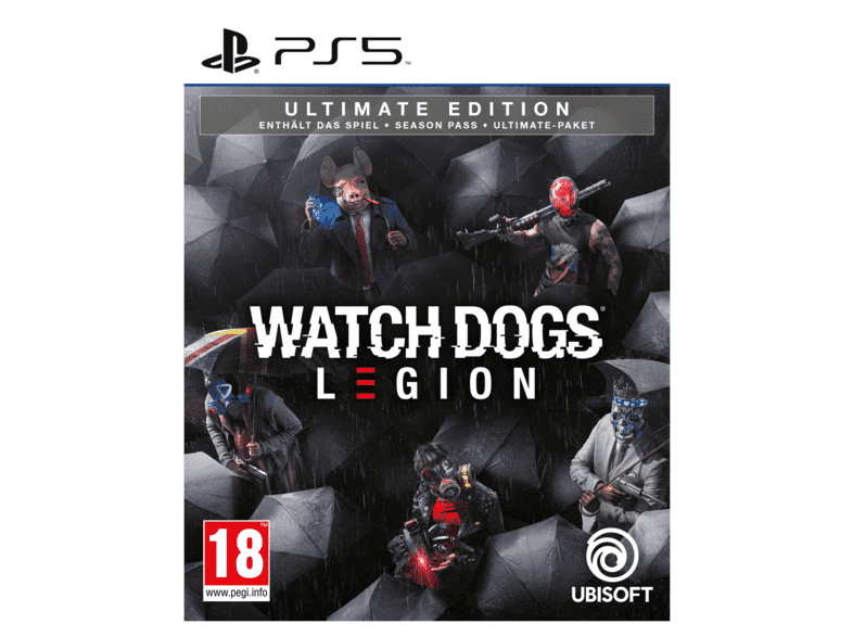 PS5 Watch Dogs: Legion - Ultimate Edition /Multilinguale