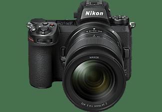 NIKON Z7 II Kit Systemkamera 45.7 Megapixel mit Objektiv 24-70 mm, 8 cm Display Touchscreen, WLAN