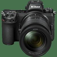 NIKON Z7 II Kit Systemkamera mit Objektiv 24-70 mm, 8 cm Display Touchscreen, WLAN
