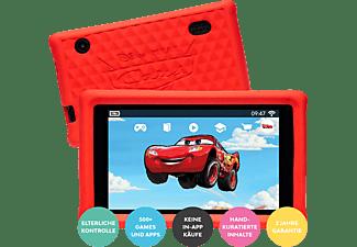 PEBBLE GEAR Cars Kids Tablet Kinder-Tablet, Schwarz