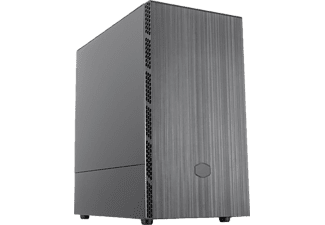 COOLER MASTER PC Gehäuse MasterBox MB400L, Schwarz (MCB-B400L-KNNN-S00)