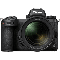 NIKON Z 6II Kit Systemkamera mit Objektiv 24-70 mm, 8 cm Display Touchscreen, WLAN