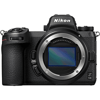 NIKON Z 6II Gehäuse Systemkamera, 8 cm Display Touchscreen, WLAN