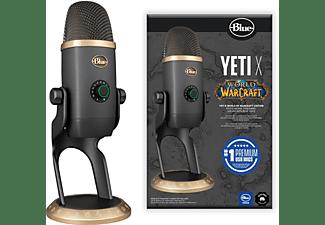 BLUE MICROPHONES Yeti X World of Warcraft® (WoW) Edition Mikrofon, Grau/Gold