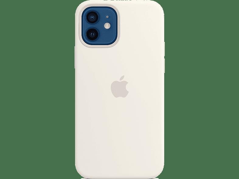 APPLE Silikon Case mit MagSafe in Weiß für iPhone 1212 Pro (MHL53ZMA) online kaufen   MediaMarkt