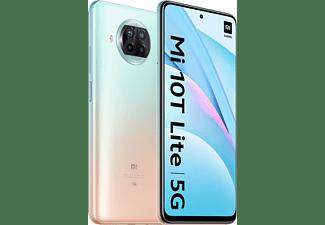 "Móvil - Xiaomi Mi 10T Lite, Oro, 128 GB, 6 GB, 6.67"" Full HD+, Snapdragon 750 5G, Cuádruple cámara, Android"