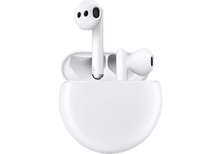 HUAWEI Freebuds 3 (wired charging case), In-ear True Wireless Kopfhörer Bluetooth Weiß