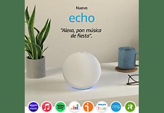 Altavoz inteligente con Alexa - Amazon Echo (4ª Gen), Controlador de Hogar, Blanco