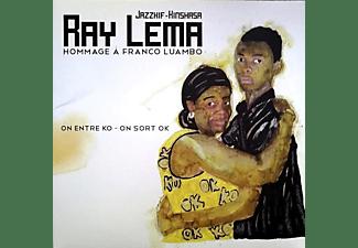 Ray Lema - HOMMAGE A FRANCO LUAMBO - ON RENTRE KO ON SORT OK  - (Vinyl)