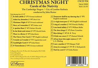 Rutter,John/Cambridge Singers,The/+ - CHRISTMAS NIGHT  - (CD)