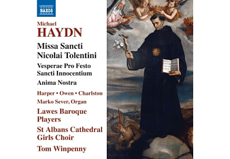 Harper/Owen/Winpenny/Lawes Baroque Players/+ - MISSA SANCTI NICOLAI TOLENTINI  - (CD)