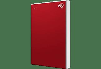 SEAGATE One Touch tragbare Festplatte Festplatte, 1 TB HDD, 2,5 Zoll, extern, Rot
