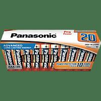 PANASONIC LR03PPG/20CB AAA Micron Batterie, Alkaline, 1.5 Volt