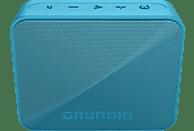 GRUNDIG GBT SOLO Bluetooth Lautsprecher, Blau, Wasserfest