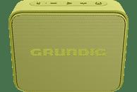 GRUNDIG GBT JAM Bluetooth Lautsprecher, Lime, Wasserfest