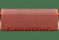 GRUNDIG GBT CLUB Bluetooth Lautsprecher, Rot, Wasserfest