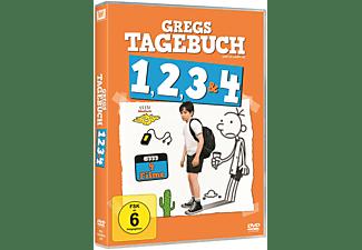 Gregs Tagebuch 1, 2, 3 & 4 DVD