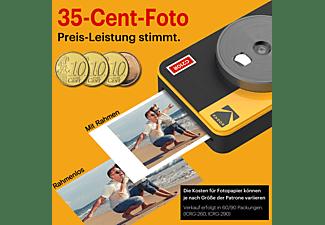 KODAK Mini Shot Combo 2 Retro Sofortbildkamera, Weiß