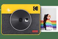 KODAK Mini Shot Combo 3 Retro Sofortbildkamera, Gelb