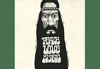 VARIOUS - Peace Love, Music (Flower Power Splatter LP)  - (Vinyl)
